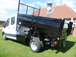 3.5 tonne All Steel Tipping Body Special Build