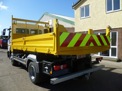 10 tonne All Steel Tipping Body with Tool Box