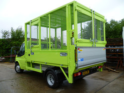 Ali Framed Tipper with Tail Lift