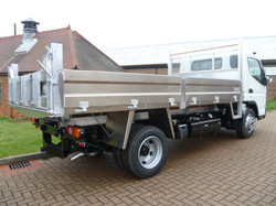 Ali Tipping Body Insulated with Tar Chtes and Tow Bar