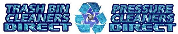 LOGO PRESSURE CLEANERS DIRECT & TRASH BI