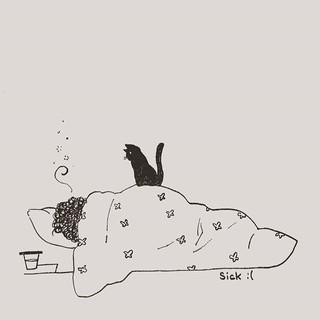 #inktober2018 day21!_#sick_I chose this