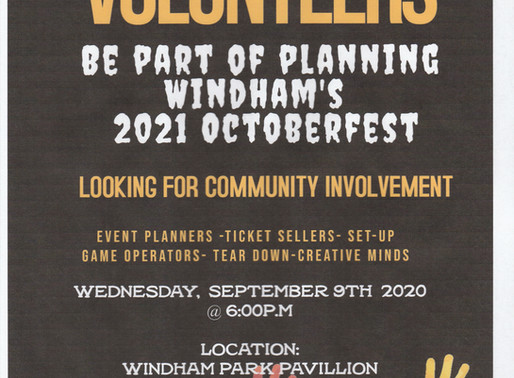 Let's Have some FUN planning a Great Community Event!!