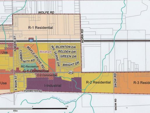 Windham Zoning Map