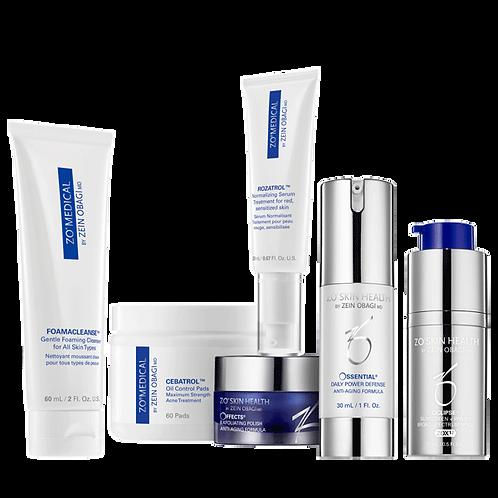 Skin Normalising System