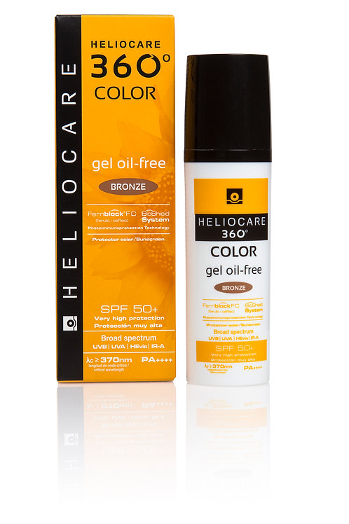 Heliocare 360 Colour Oil Free Gel SPF 50+ 50ml