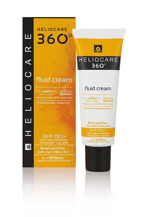 Heliocare 360 Fluid Cream SPF 50+, 50ml