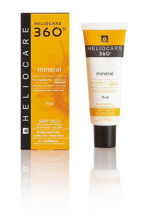 Heliocare 360 Mineral Fluid SPF 50+, 50ml