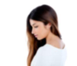Asian-indian-profile-girl-brunette-portr
