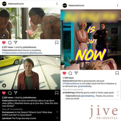 Hollywood Film Social Media