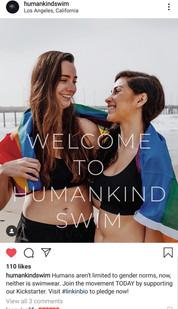 Humankind Swim Branding