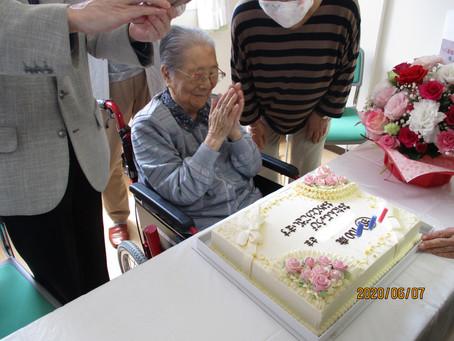今年2人目の100歳の誕生日