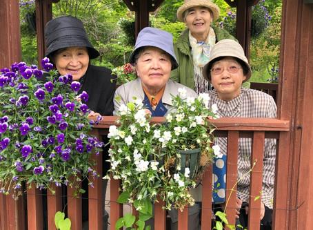 紫竹ガーデンにて