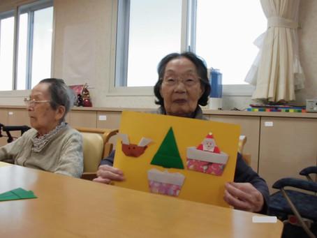 折紙ボランティアの様子