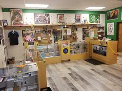 Sales area - Left side