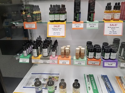 Daily sales and free samples