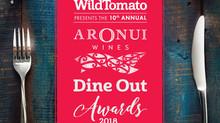 WILD TOMATO DINE OUT AWARDS