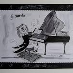 illustration chat de Michèle Pincemin