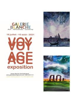 Exposition Giverny de Michèle Pincemin artiste peintre