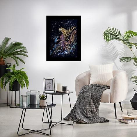 Aquarelle de Michèle Pincemin artiste peintre