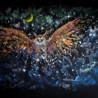 art visuel par l'artiste peintre Michele Pincemin