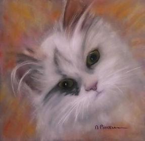 Art animalier oeuvre de Michèle Pincemin