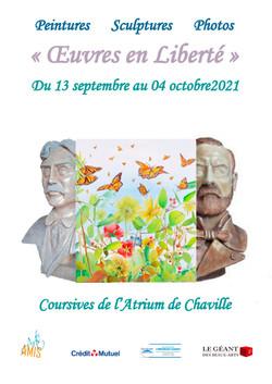 Exposition avec Michèle Pincemin Chaville