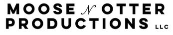 Moose N Otter Productions logo, video production, videography, visual media, media production, video marketing, video advertising, fort worth, dallas, texas, brooke honcharik, andrew lococo
