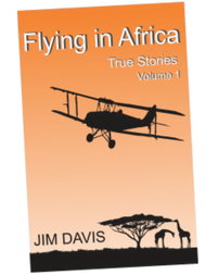 Flying in Africa Vol1 by Jim Davis