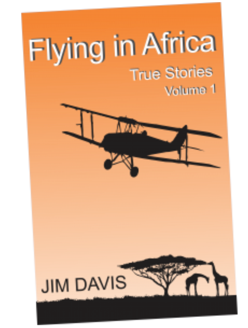 Flying in Africa Vol1 by Jim Davis
