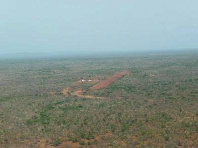 In the middle of nowhere, Birao, Central African Republic.