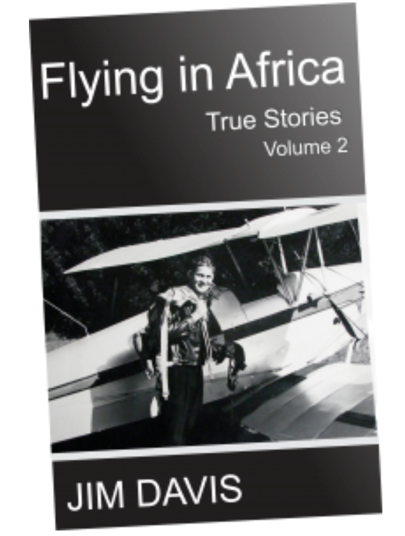 Flying in Africa Vol2 by Jim Davis