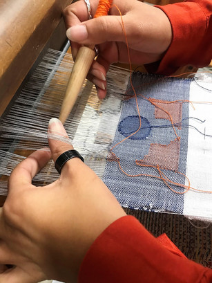 Embroidery on the Loom