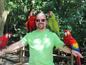 Gumbalimba Park in Roatan Honduras