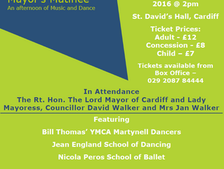 YMCA CARDIFF - THE 60th LORD MAYOR'S MATINEE
