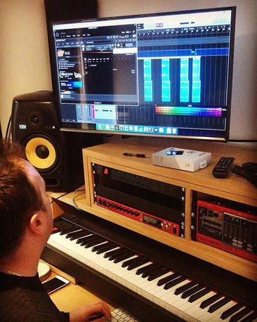 MD _rob_eckland last week #dreamteam #vocals #sessionchoir #sessionsingers #recording #studio