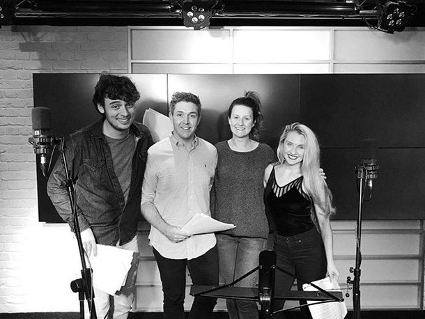 #tbt Recording at MAGIC FM with _fourtunevocalquartet last year, we had great fun singing some of the most played songs on the radio.jpg