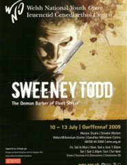 Tickets Now On Sale For Sweeney Todd