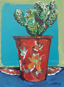 Red Cup Cacti24x17cm.jpg