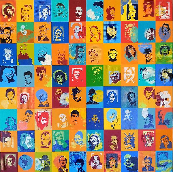4 - Iconography, Alex Hamilton, 120cm x