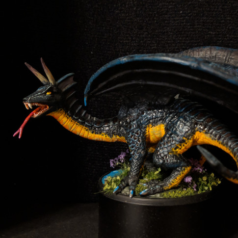 Dragon, Black