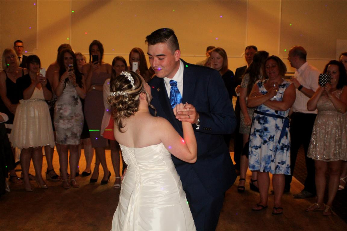 Wedding photography Gosport- First dance