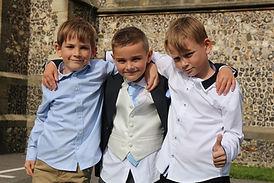 Wedding Photographer Fareham- Boys pose