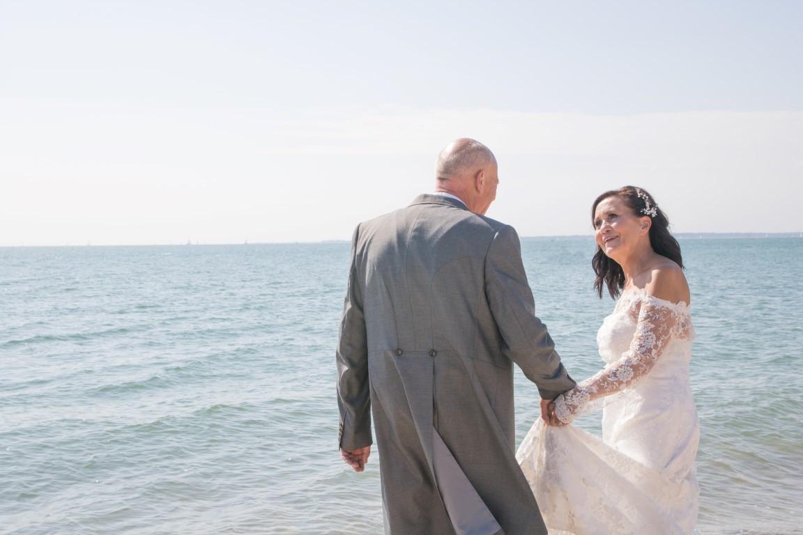 Wedding Photography Fareham- Beach