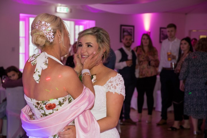 Wedding Photographer Gosport- Mother emb