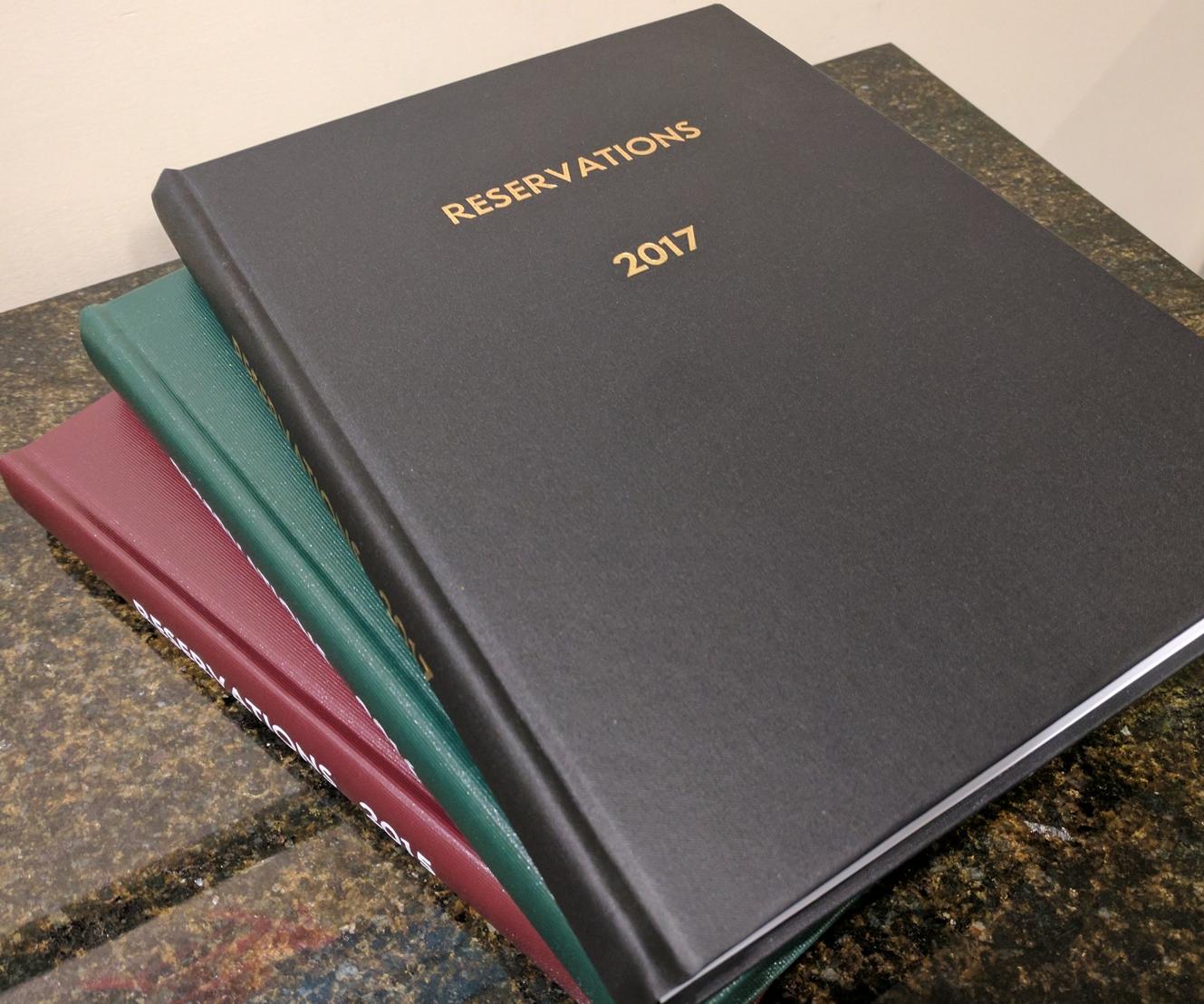 Log & Custom Books