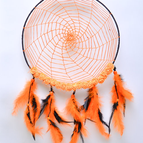 Dreamy Orange Dream Catcher