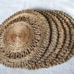 Azal Jute Table Mat Set of 4
