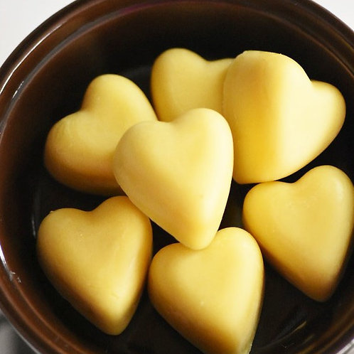 Heart Cinnamon Wax Melts - Pack of 7