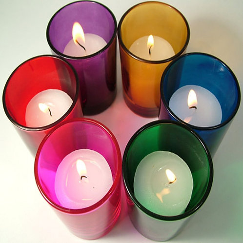Ornate Aroma Votive Candle - Set of 6